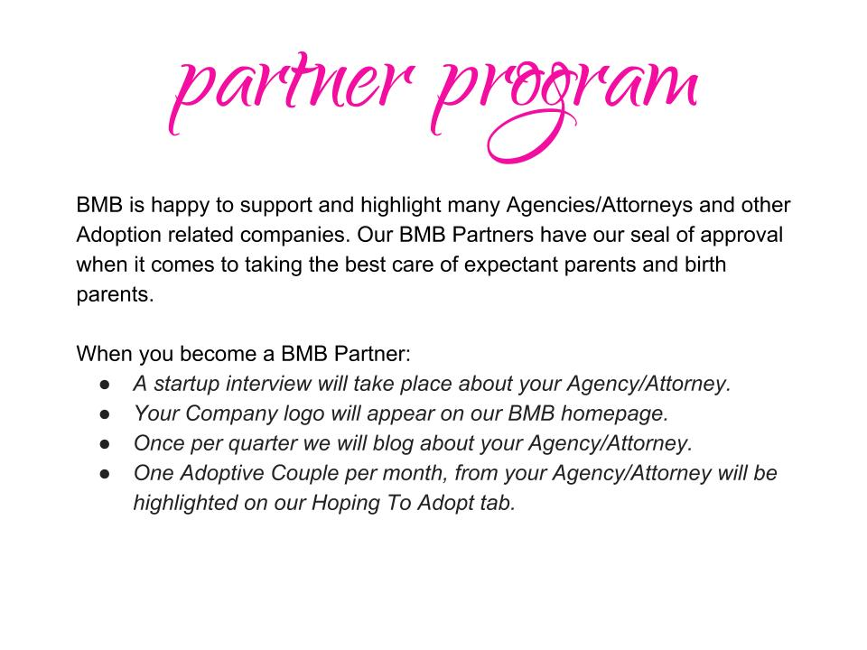BMB Partner Program